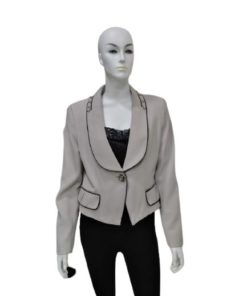Women 1 Button Formal Jacket Blazer