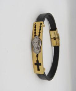 St. Charbel Bar Stainless Steel Bracelet