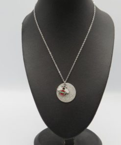 Stainless Steel Bee Necklace
