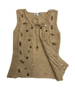 Women's Open Front Crochet Vest