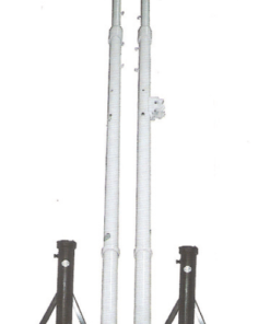 fixed badminton post