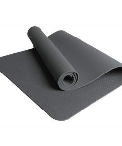 yoga mat gray