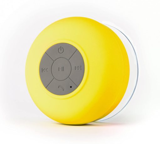 Round Mini Waterproof Bluetooth Speaker