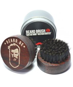 Bamboo Beard Brush (Round)
