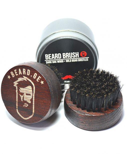 Bamboo Beard Brush (Round)