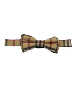 Burberry Manston Check Bow Tie