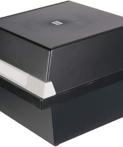 Card box A5 CAP 800 Black