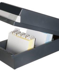 Card box A6 CAP 1300 Black 1