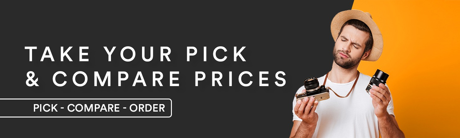 Take your pick and compare prices