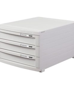 Contur cabinet 3 drawers Light grey