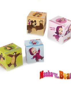 Cube TissueMasha & the bear Cube Tissue