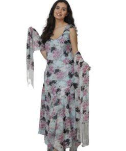 F0703-1-Flowery Dress