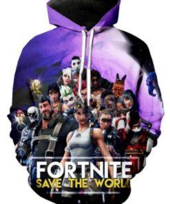 Game Fortnite 3D printing Hoodie Sweatshirt