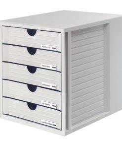 HAN 5 drawers cabinet Grey