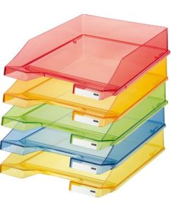 HAN letter tray transparent