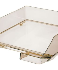 HAN letter tray transparent Smoke