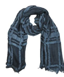 D&JEANS-Women's Scarf Oblong With Fringe Trim