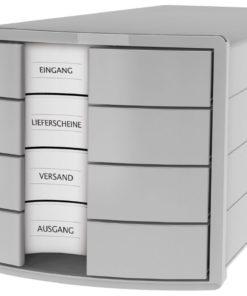 HAN monitor Impuls 4 drawers Light grey