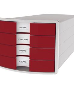 HAN monitor Impuls 4 drawers Red
