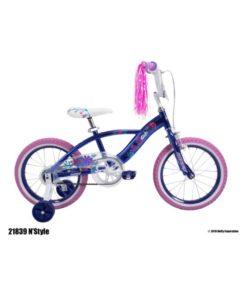 HUFFY – N Style Girls Bike Purple 16 Inch