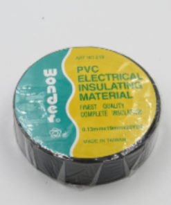 Black Electrical Insulating Tape