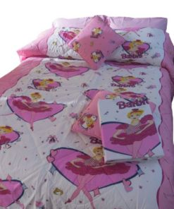Barbie Twin/Full Comforter With Cushions
