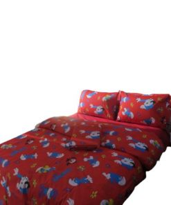 Disney Twin Duvet Cover Set - The Smurfs Small Character