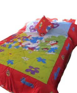 The Smurfs Big Character Twin/Full Comforter With Cushions