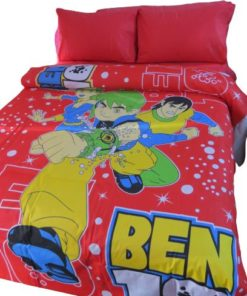 Disney Twin Duvet Cover Set - Ben 10