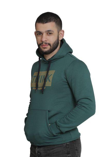 LAMBARDI Men's Ultimate Cotton Heavyweight Pullover Hoodie Sweatshirt