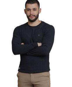 LAMBARDI Men's Ultimate Cotton Sweatshirt Round Neck