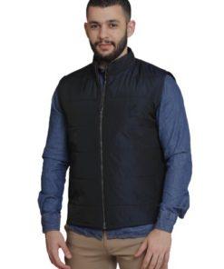 LAMBARDI Puffy Sleevless Jackets With Full Zip