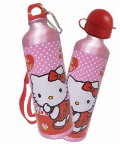 Large Aluminium Water-Hello Kitty
