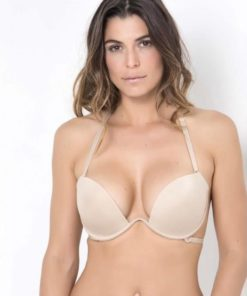 SELMARK Women's Infinity Back Neckline Push-up Bra