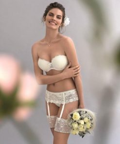 SELMARK String With Ivory Lace