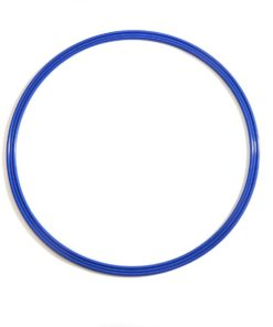 Sports Speed and Agility Flat Hoops blue