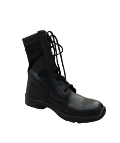 EAGLE PASS Mid-High Military Combat Boots For Men With Laces