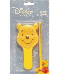Yellow Winnie Brush Comb