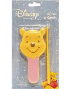 Pink Winnie Brush Comb