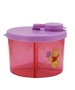 Pink Winnie Milk Powder Container