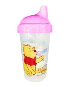 Winnie Non Spill Cup-Pink