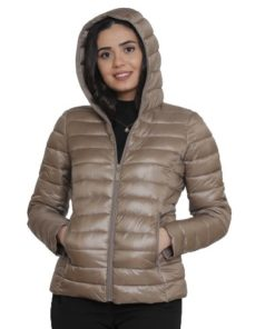W-COLLECTION Water-Repellent Puffer Jacket