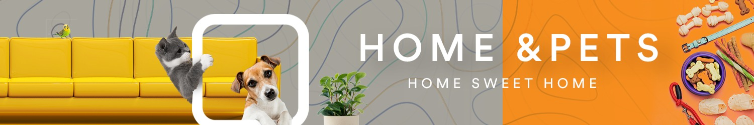 home and pet banner