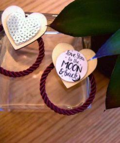"""Love U To The Moon & Back"" Earrings"