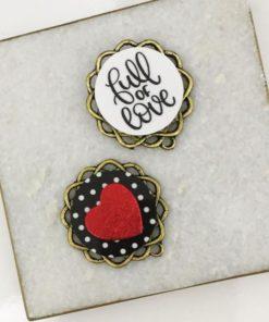 """""""Full Of Love"""" Earrings"""
