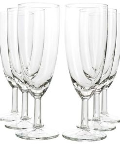 ROYALTY Champagne Flute Glass Cups
