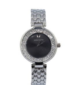 ANDE KLEVN Silver Watch With A Set Of Three Bracelets