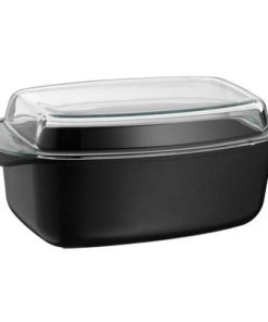 MASTER CHEF Oval Roaster with Lid