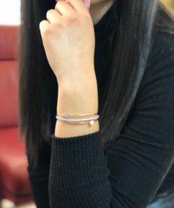 NEOGLORY Open Bracelet With A Unique Design