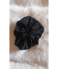 Black Elastic Scrunchies